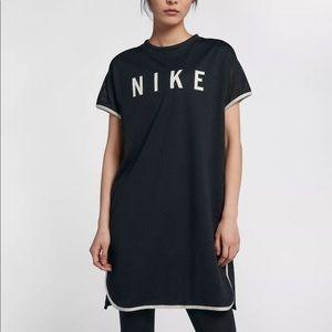 Nike Sportswear Short Sleeve Mesh Dress